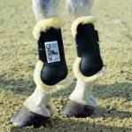 Sheepskin tendon boots